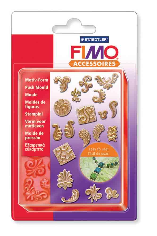 Push Mould - Moule extra flexible - Motifs ornementaux