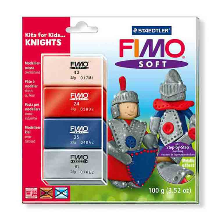 Fimo soft - set Chevaliers