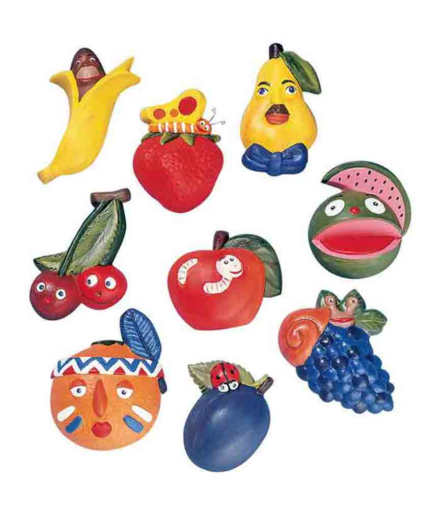 Moule motifs fruits rigolos - Knorr Prandell