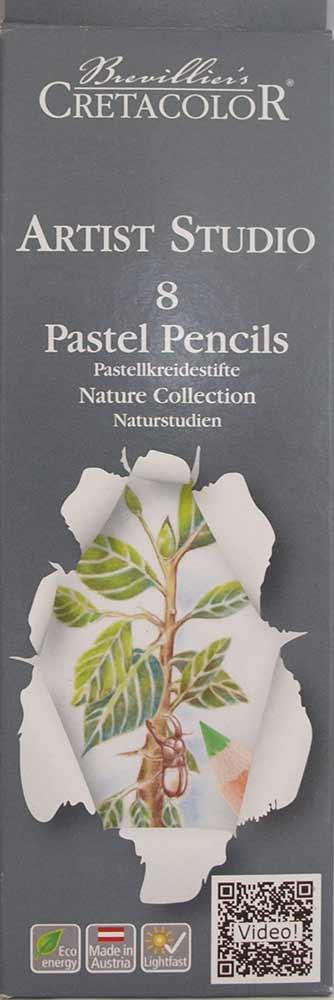 Set de 8  crayons pastels - Artist Studio Line - Paysage