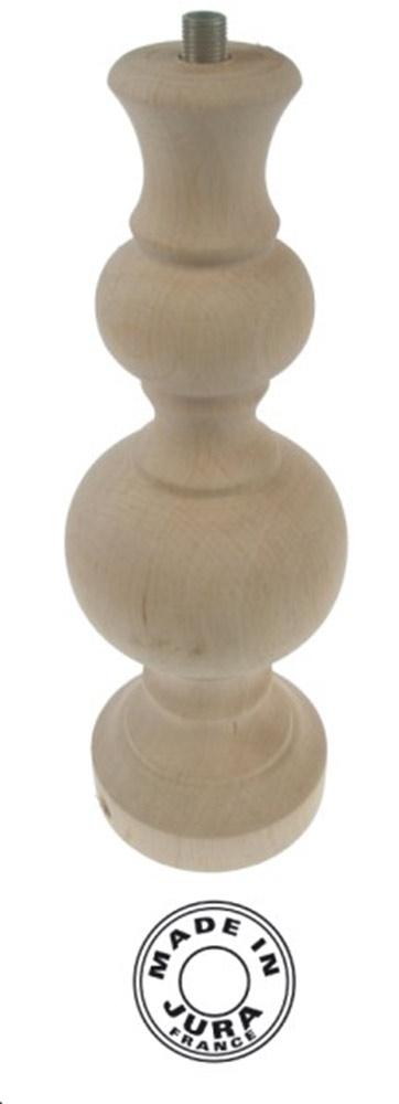 Pied de lampe en bois brut