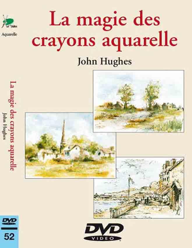 DVD - La magie des crayons aquarelle