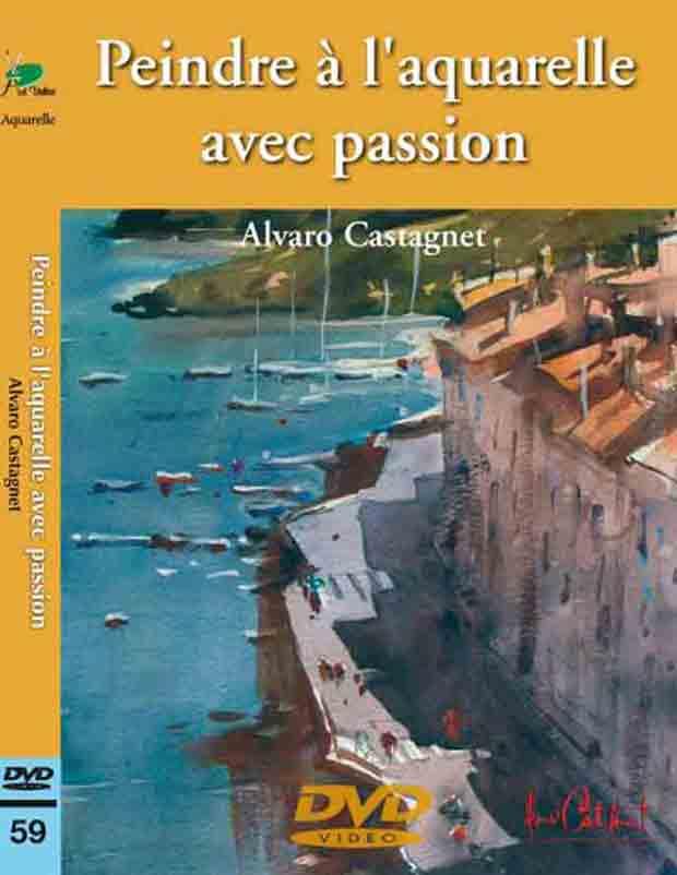 DVD - Peindre à l\'aquarelle avec passion