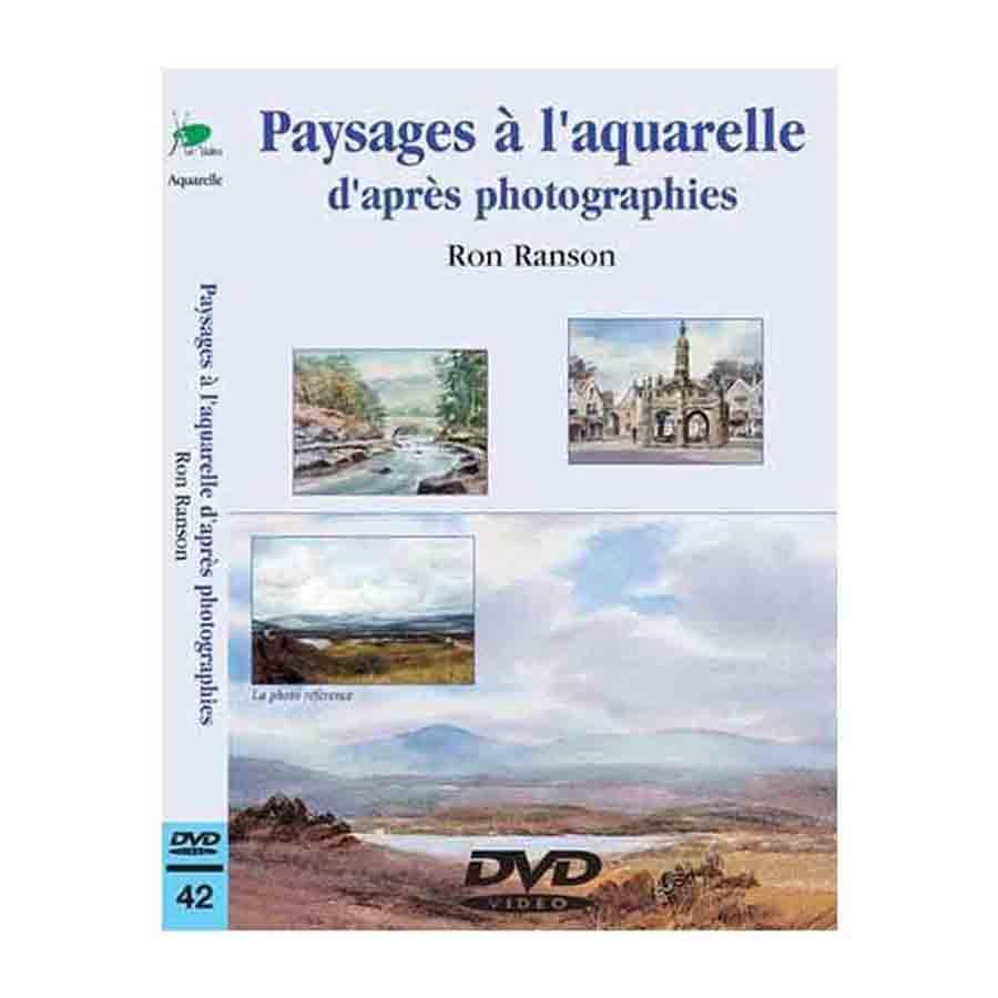 DVD - Paysages à l\'aquarelle d\'après photographies