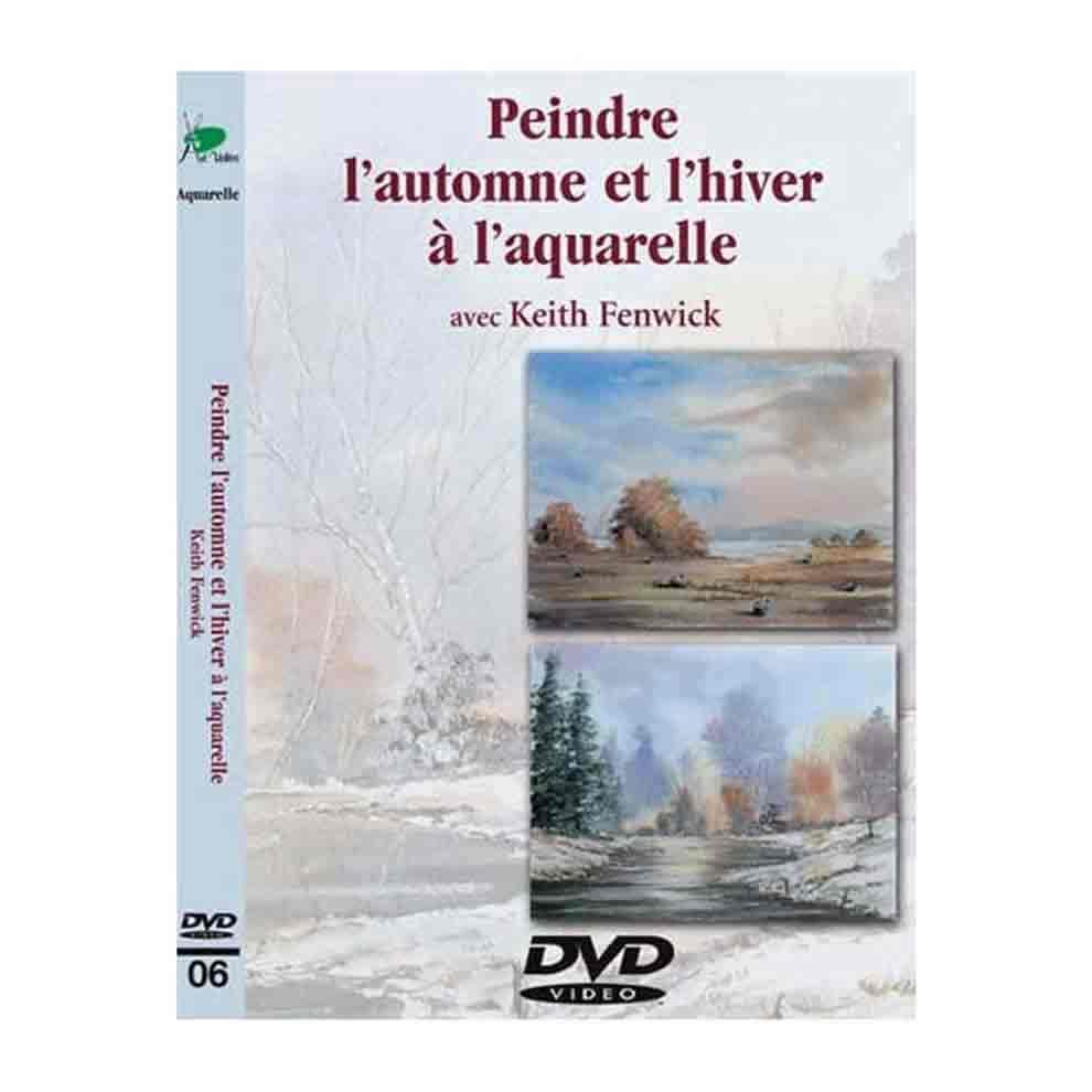 DVD -  Peindre l\'automne et l\'hiver à l\'aquarelle