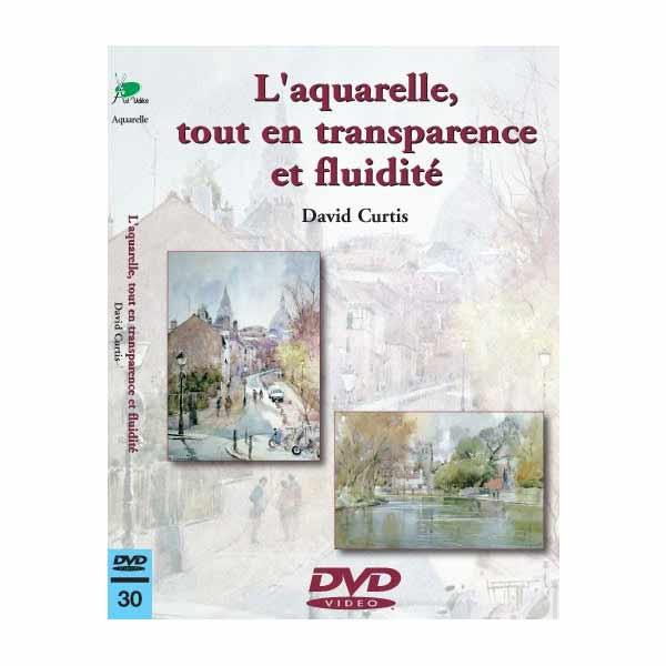 DVD - L\'aquarelle tout en transparence et fluidité