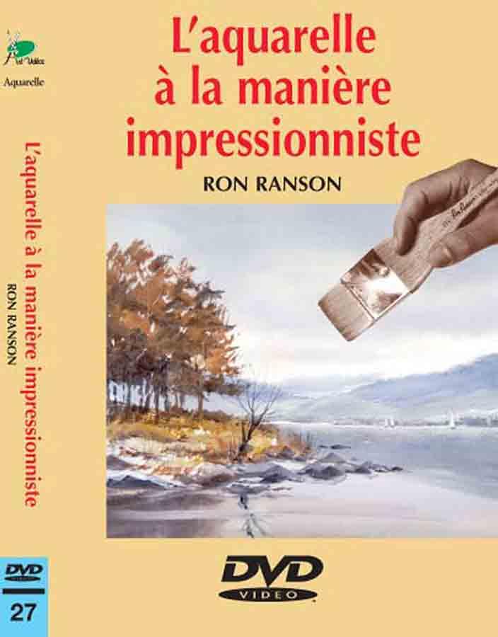 DVD - L\'aquarelle à la manière impressionniste