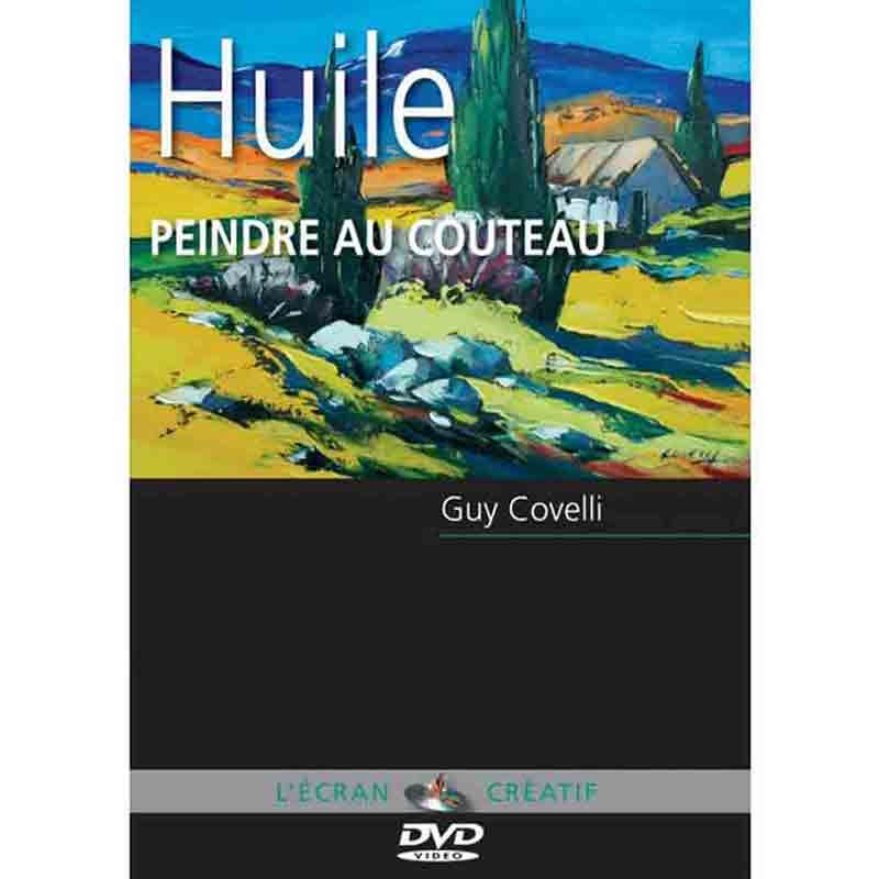 DVD L\'écran Créatif - Peindre au couteau -  Vol 1