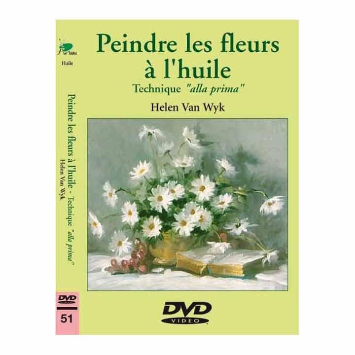 DVD - Peindre les fleurs à l\'huile alla prima