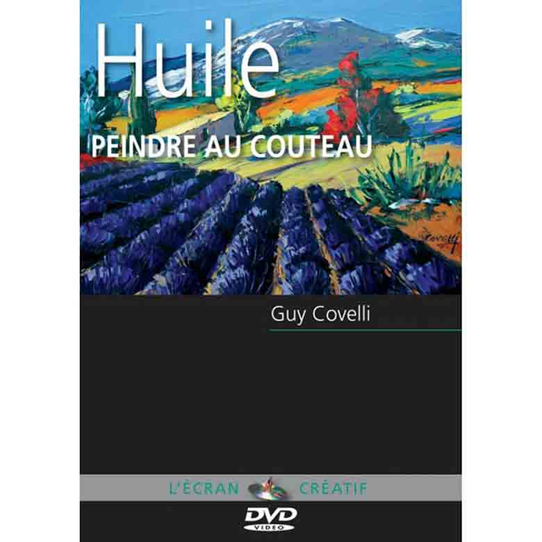 DVD l\'écran créatif - Peindre au couteau - Vol 3