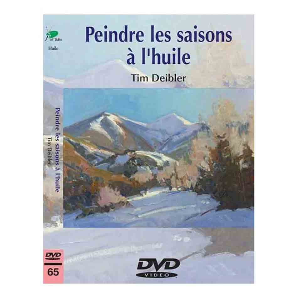 DVD - Peindre les saisons à l\'huile