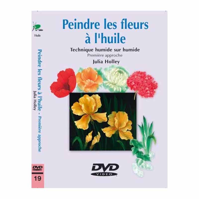 DVD - Peindre les fleurs à l\'huile