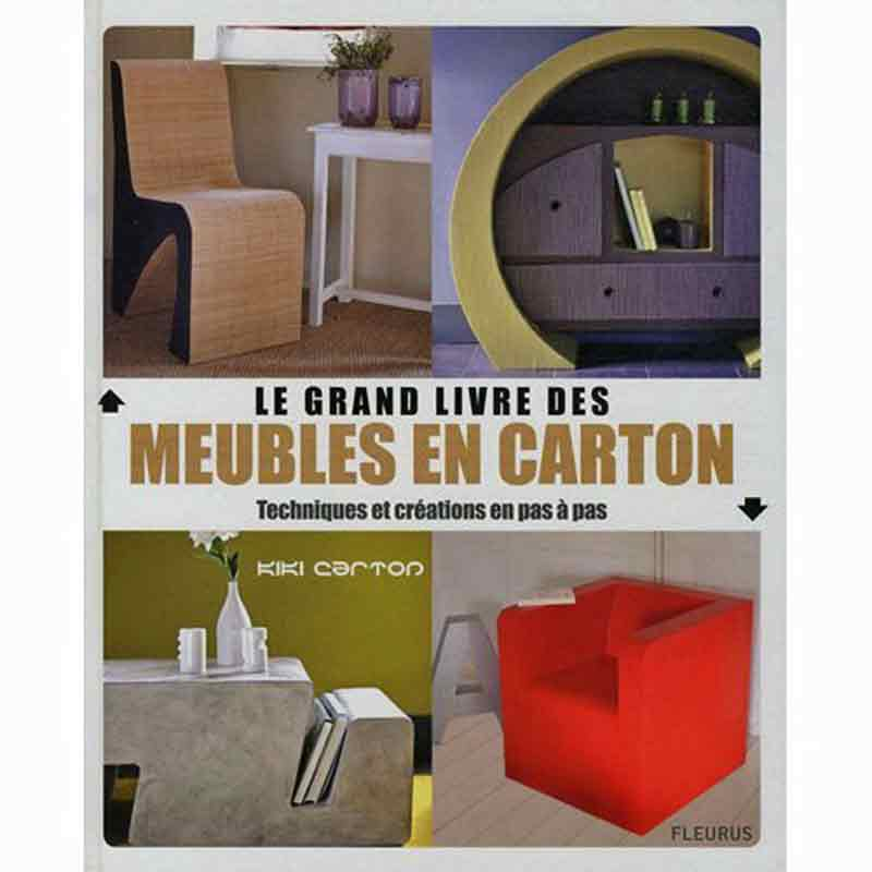 le grand livre des meubles en carton livres techniques cr atives mimi crealoisirs. Black Bedroom Furniture Sets. Home Design Ideas