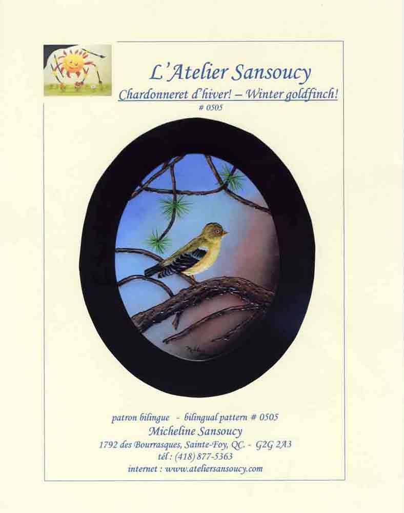 Chardonneret d\'hiver - M. Sansoucy