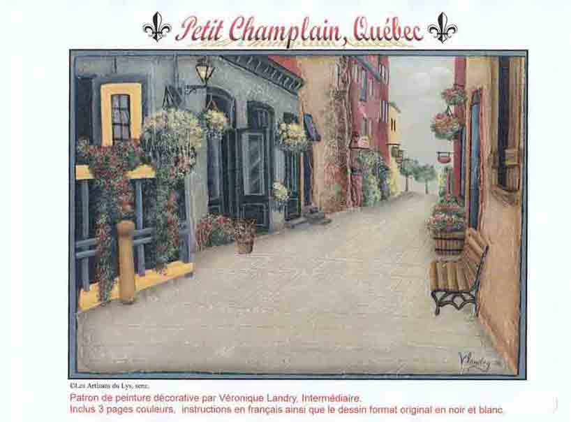 Petit Champlain, Quebec - V. Landry