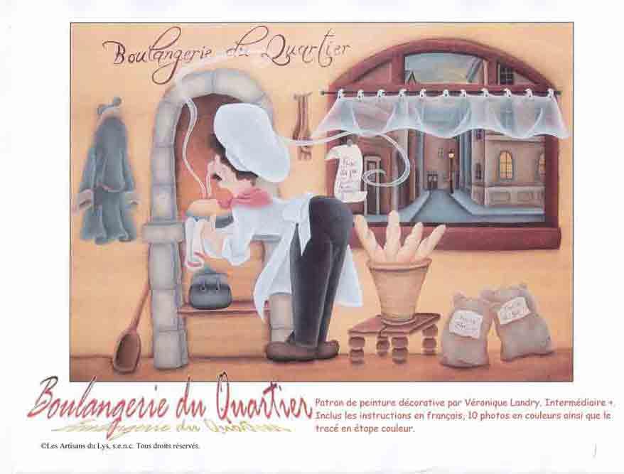 Boulangerie de quartier - V. Landry