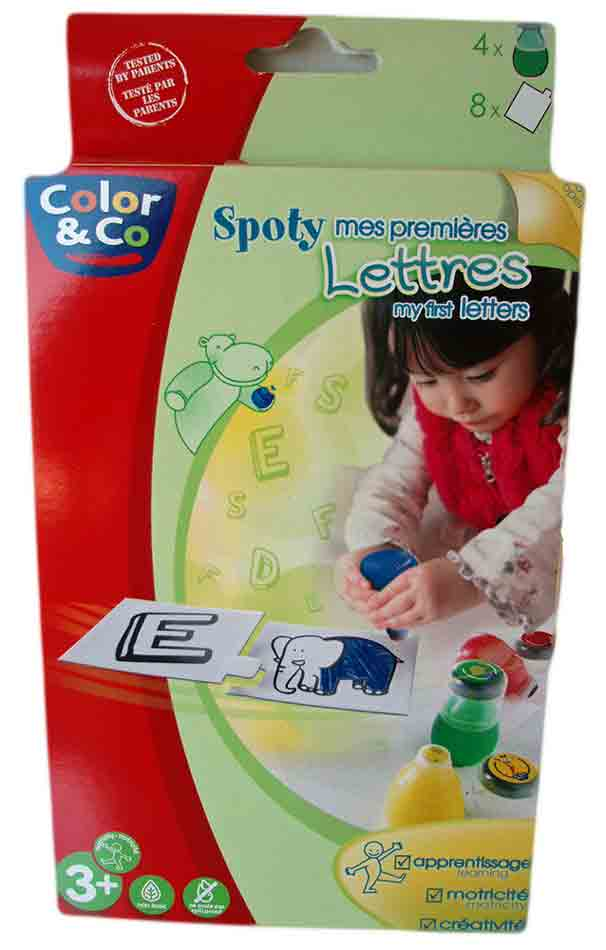 Set Spoty - Mes premières lettres