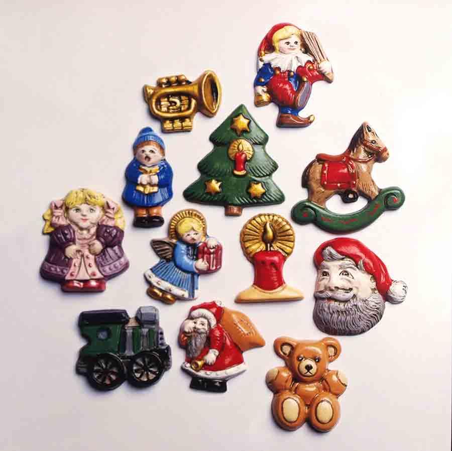 Moule à relief - Motifs Noël traditionnel - Hobby Time