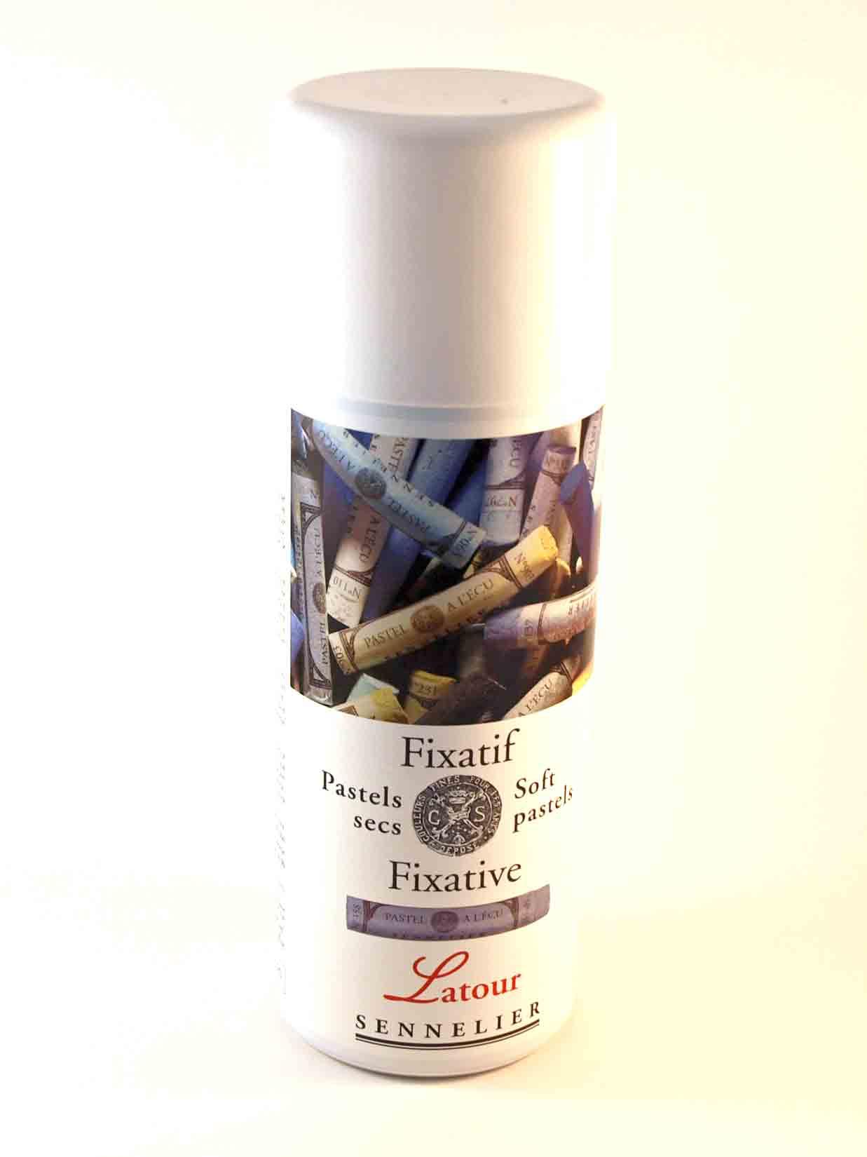 Fixatif Latour pour pastels secs - Sennelier