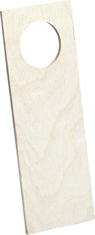 Plaque de poignée porte à suspendre - 20cm
