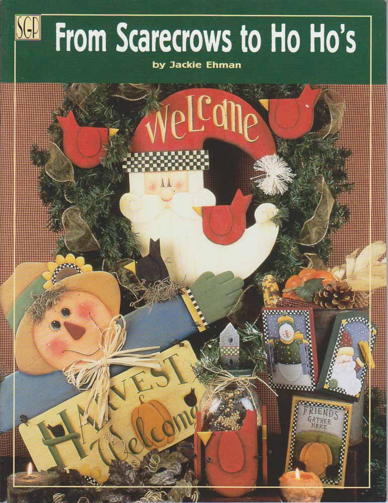 From Scarecrows to Ho Ho\'s - Jackie Ehman