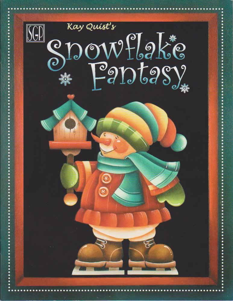 Snowflake Fantasy - Kay Quist\'s