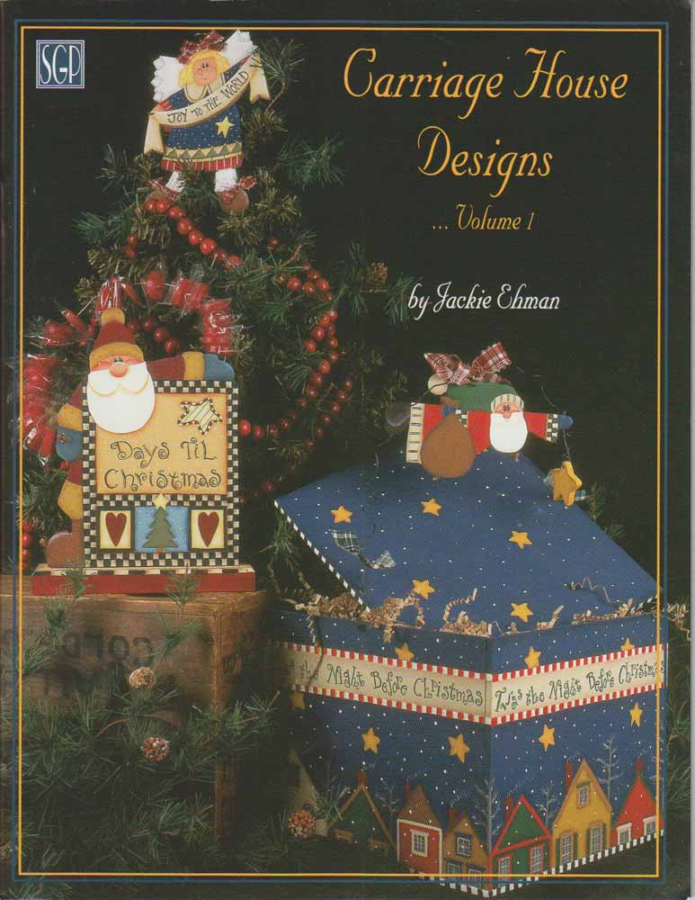 Carriage House Designs vol1 - Jackie Ehman