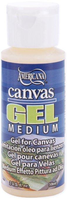 Gel Médium retardateur pour toile à peindre - 60ml
