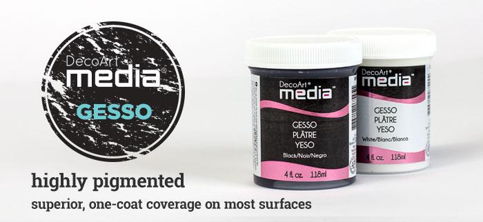 Gesso Media DecoArt - 118ml