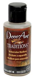 DATM11 médium aquarelle traditions DecoArt