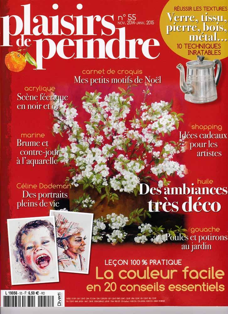 Revue Plaisirs de peindre - N°55 - nov/jan 2015