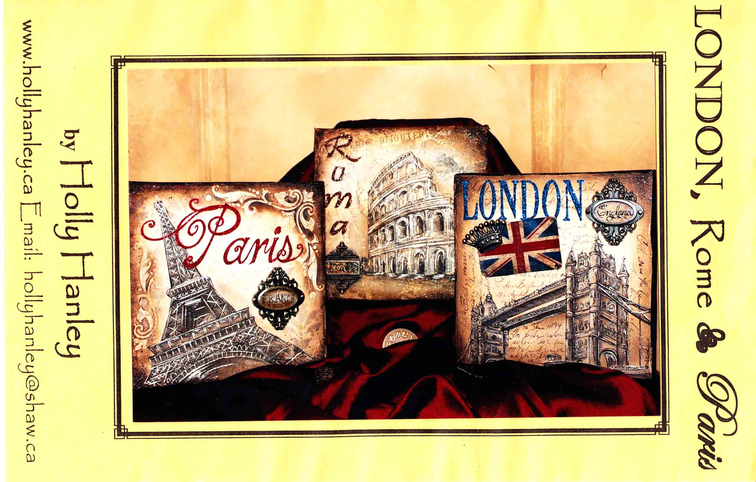Londres, Rome et Paris - Holly Hanley