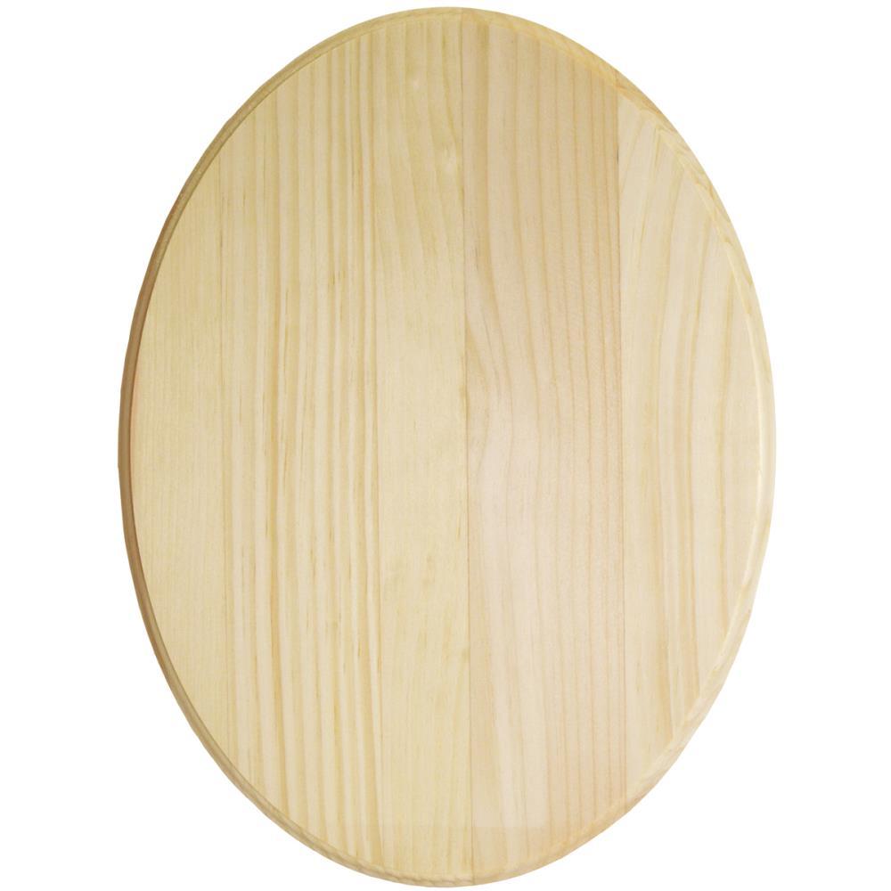 Plaque ovale en pin - 9x12 (22,9X30,5cm)