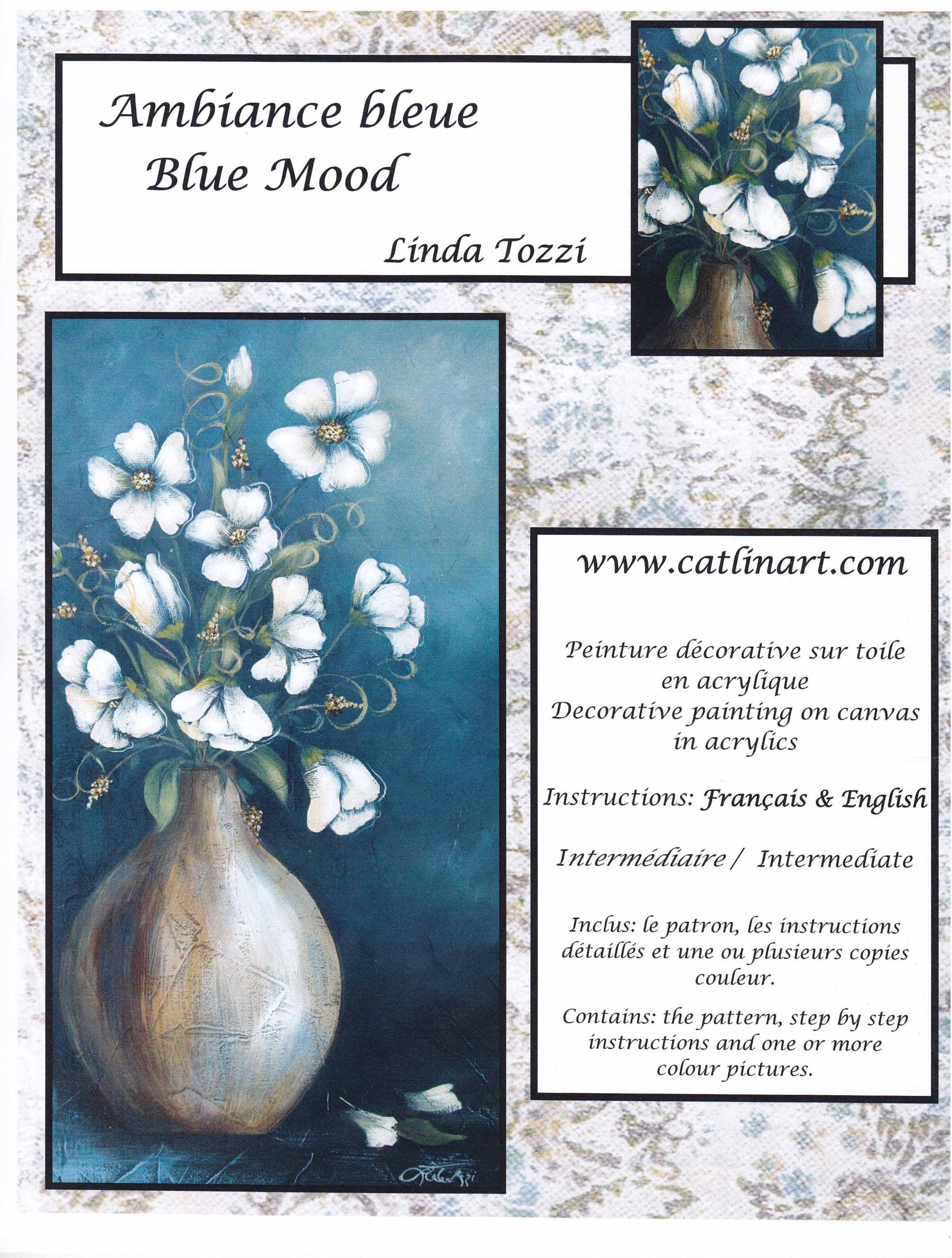 Ambiance bleue - Linda Tozzi