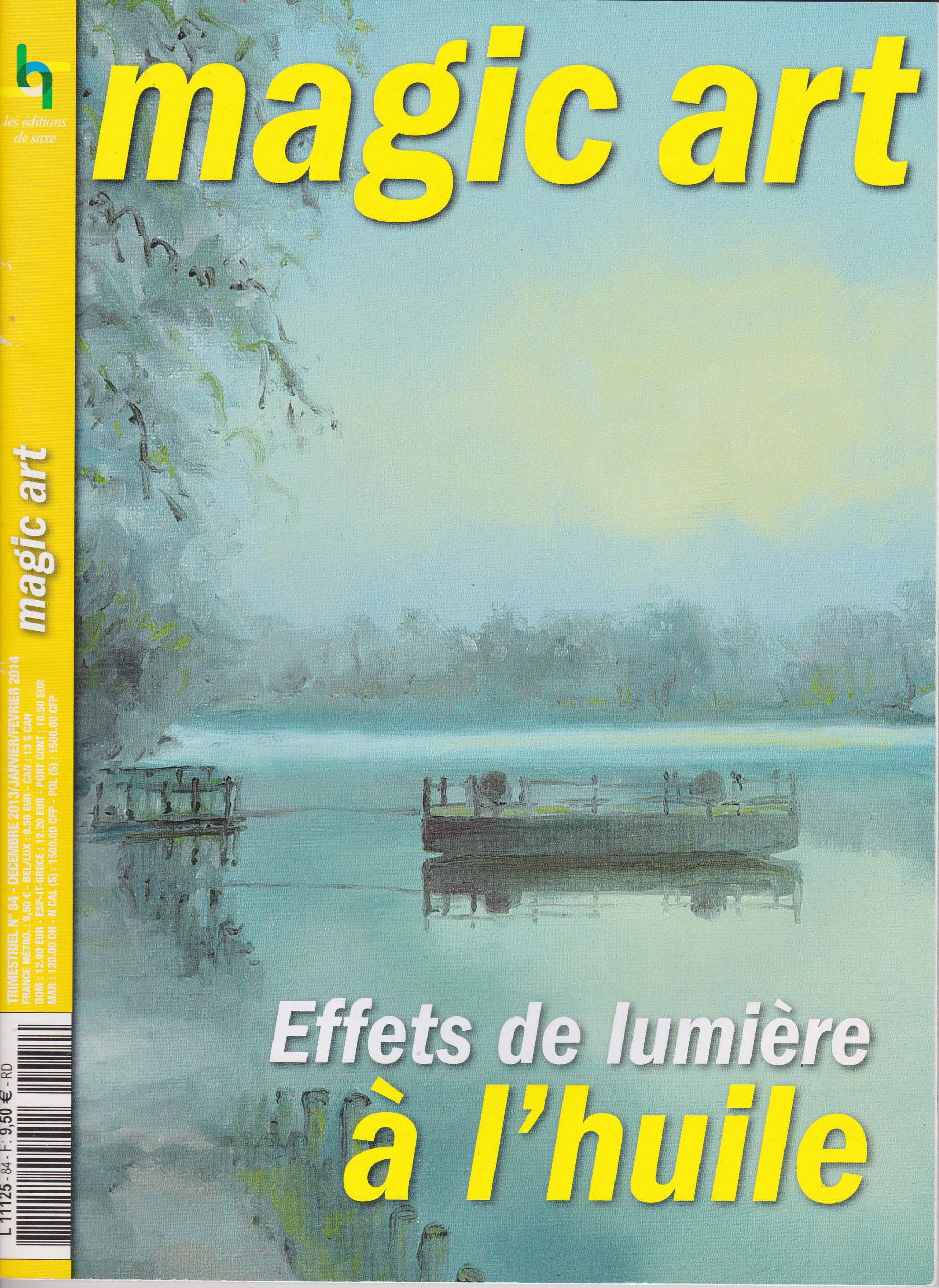 Revue Magic Art N°84 - Effets de lumière à l\'huile