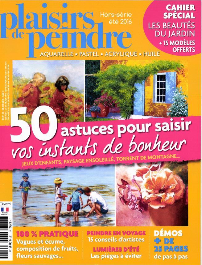 Revue Plaisirs de peindre - Hors série N°28