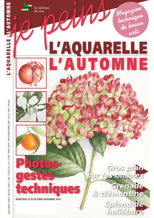 Magazine je peins - aquarelle - l\'automne