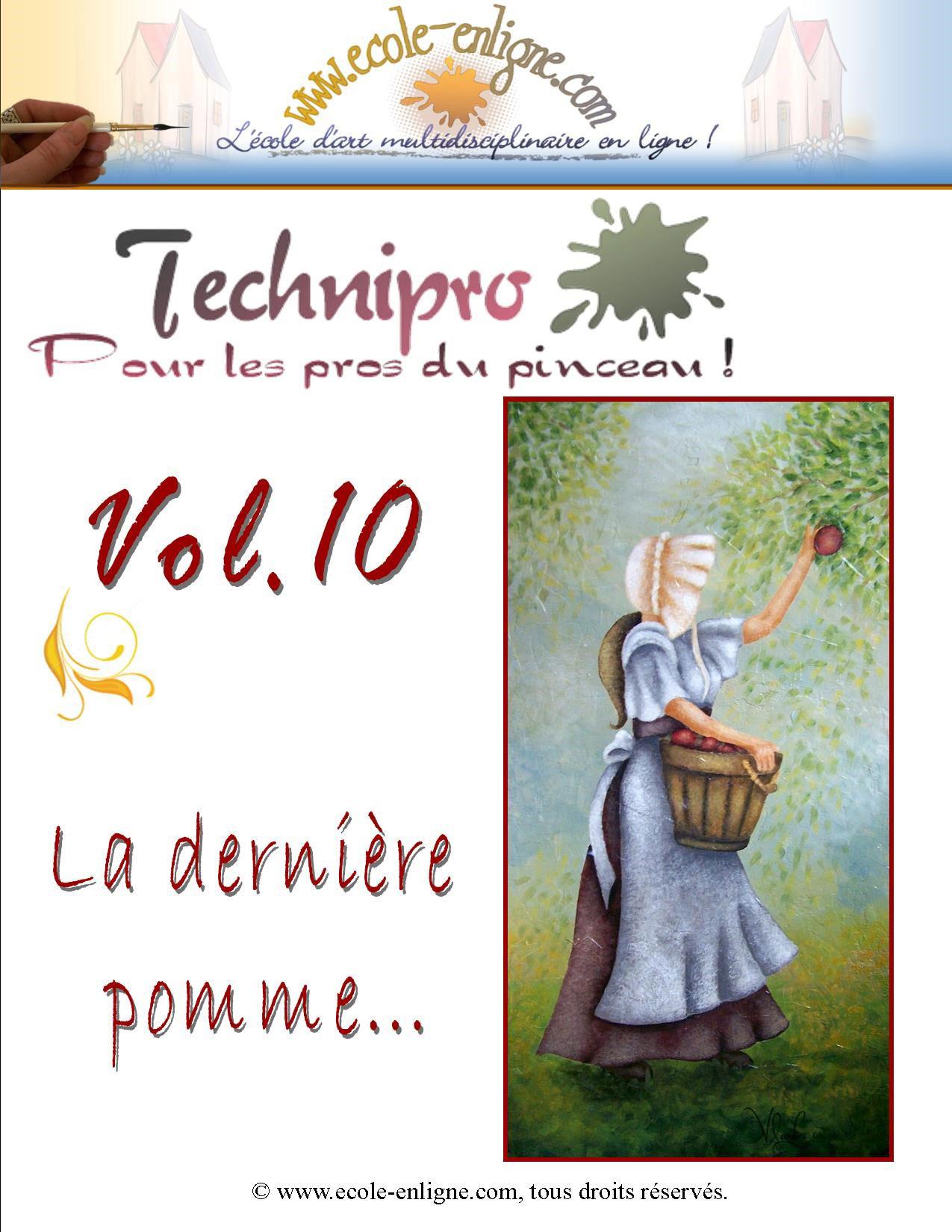 La dernière pomme - Technipro Vol 10
