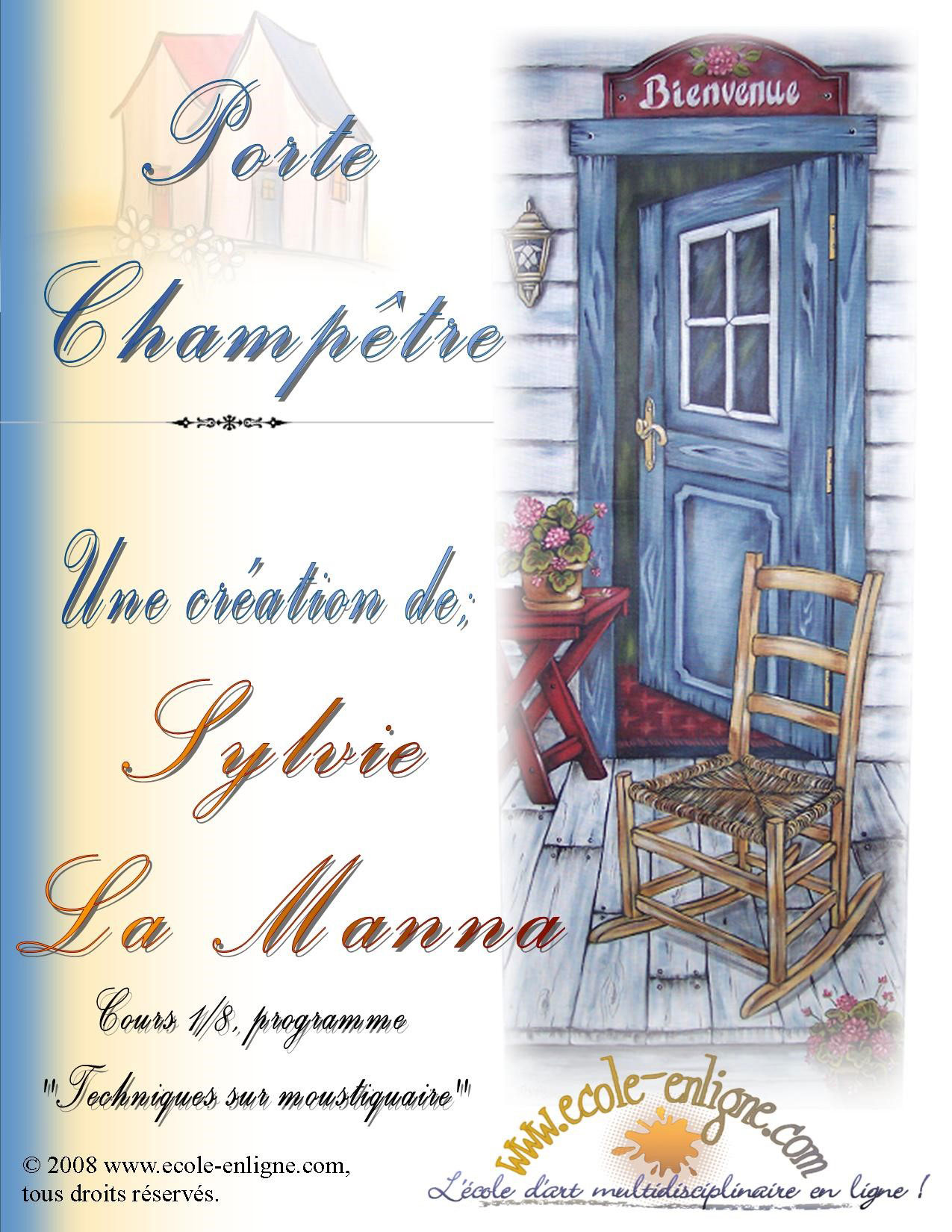 Porte Champêtre - Sylvie La Manna