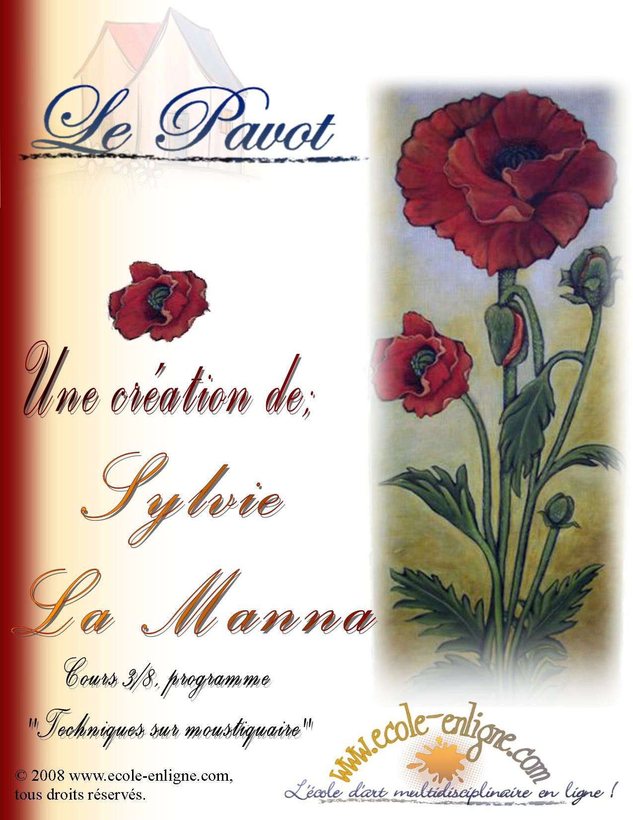 Le pavot - Sylvie La Manna