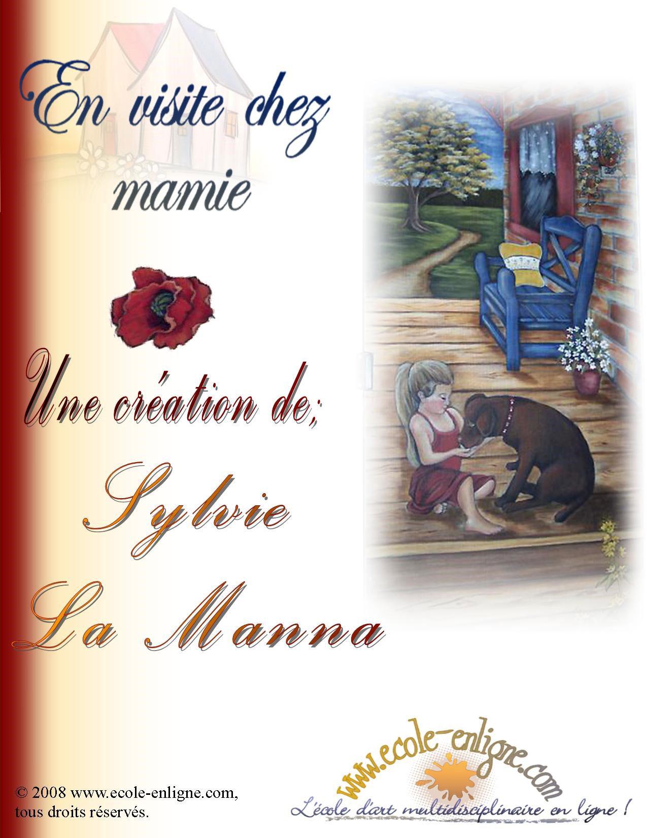 En visite chez Mamie - Sylvie La Manna