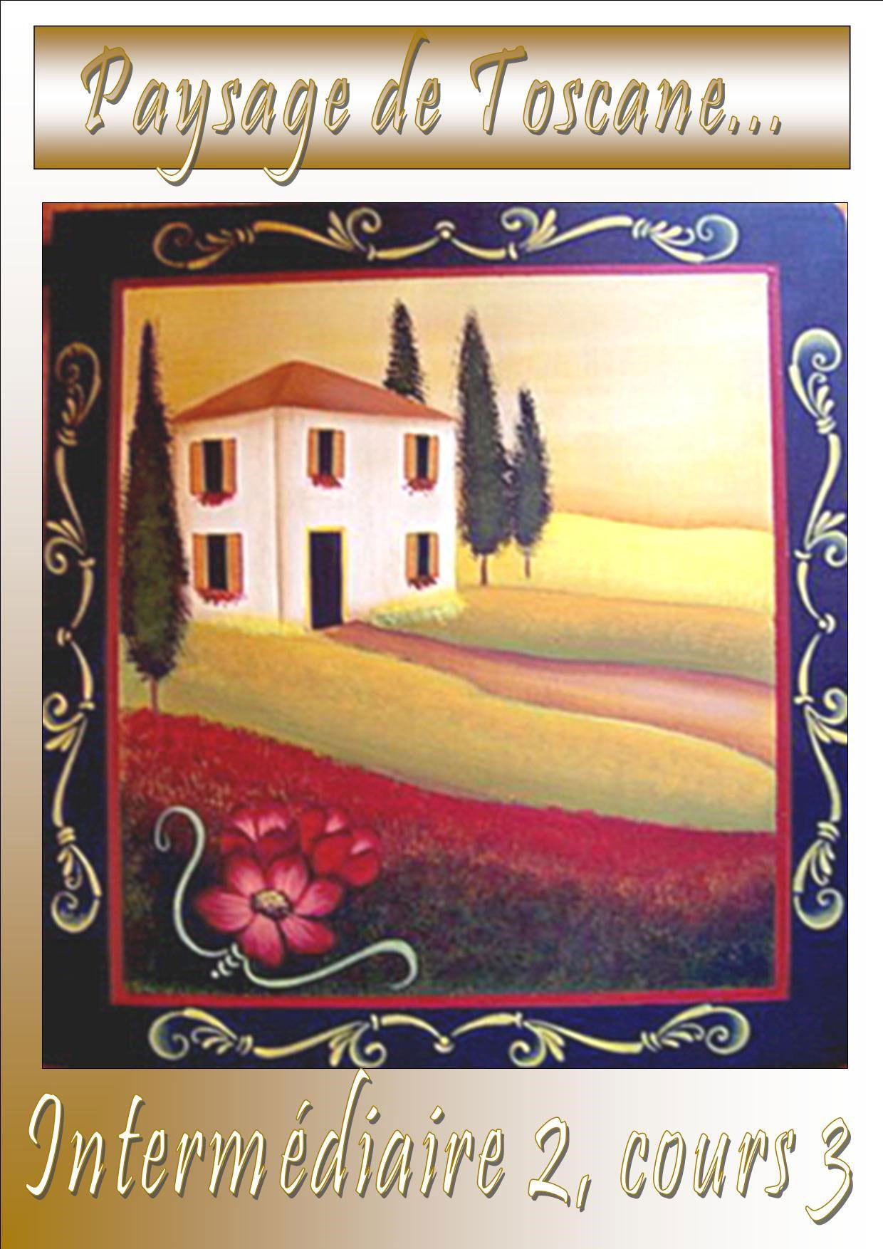 Paysage de Toscane - Véronique Landry