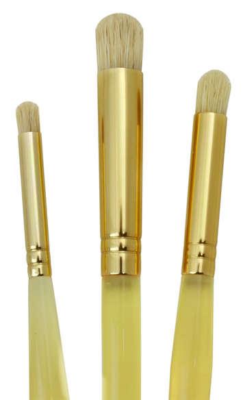 Set 3 pinceaux pour pochoir - forme dôme - Royal & Langnickel