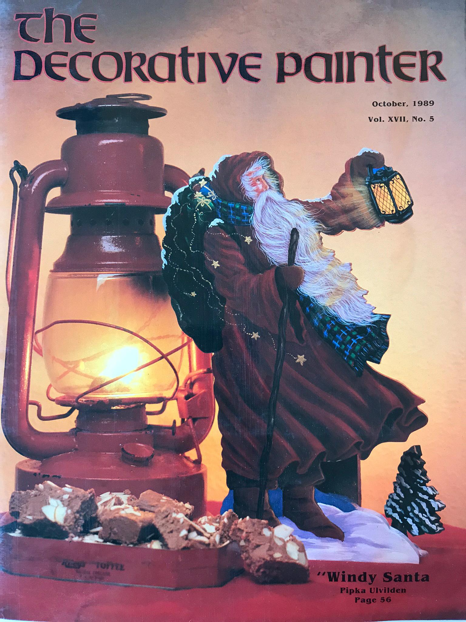 Magazine The decorative Painter - 1989 N°5