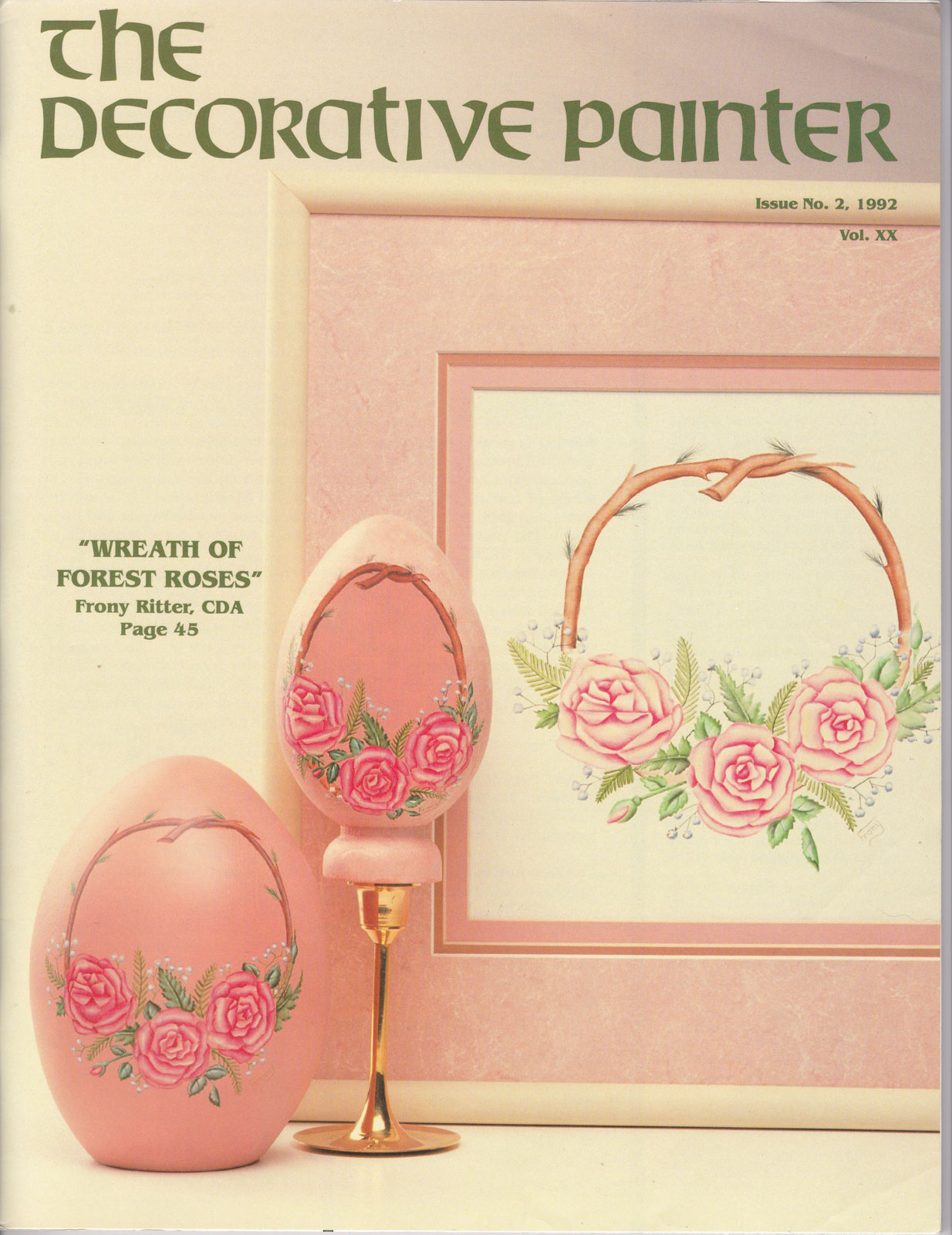 Magazine The decorative Painter - 1992 N°2