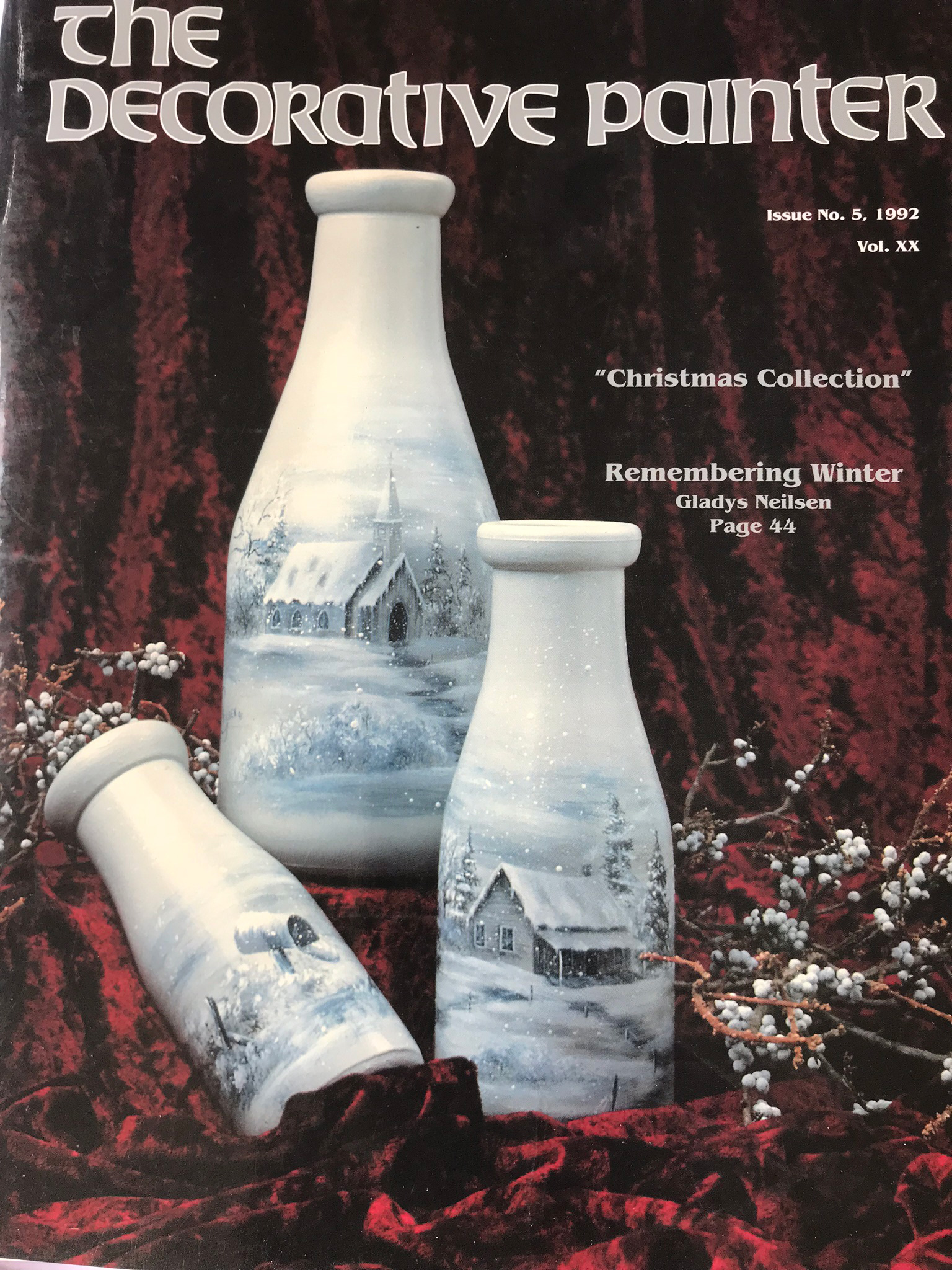 Magazine The decorative Painter - 1992 N°5