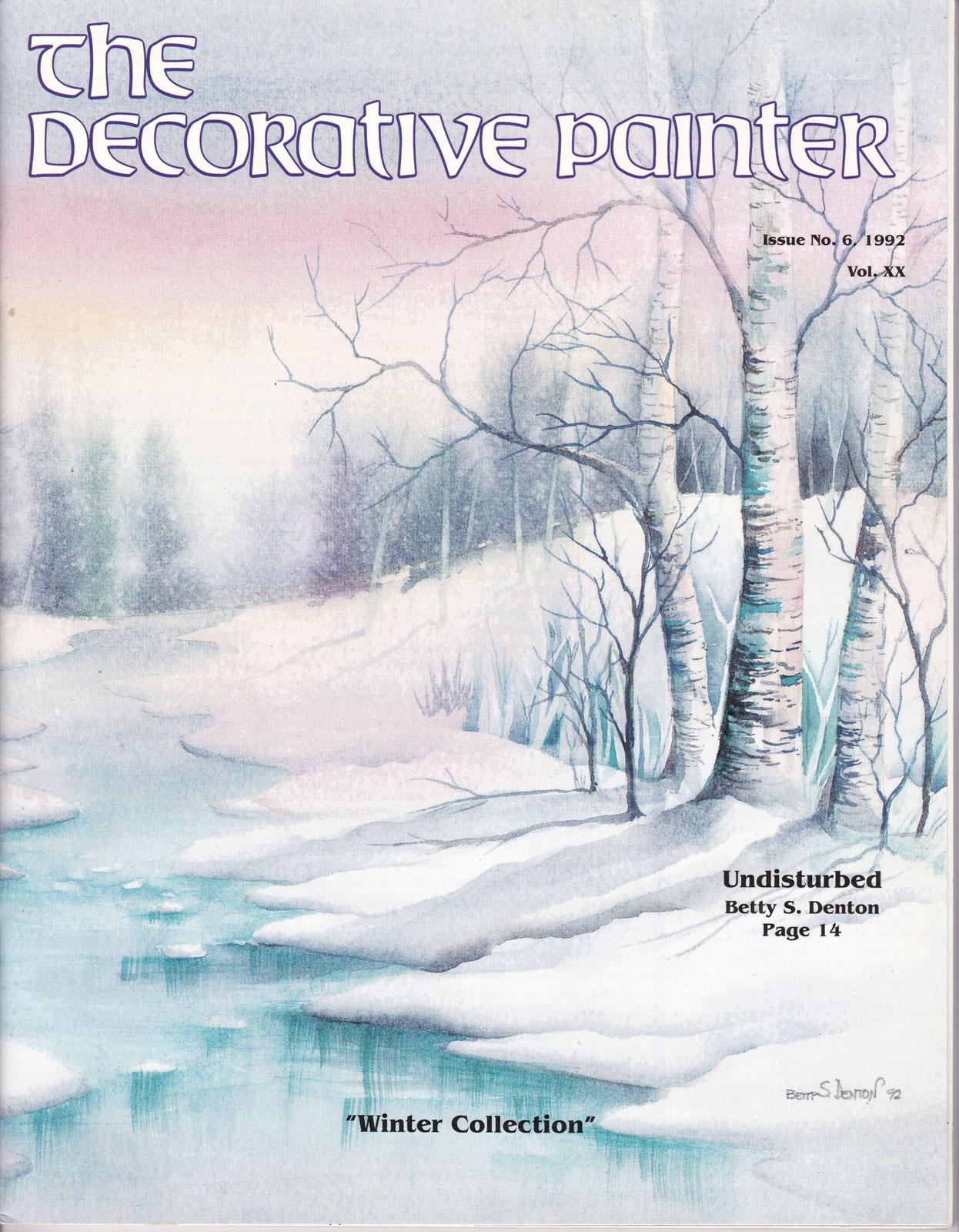 Magazine The decorative Painter - 1992 N°6