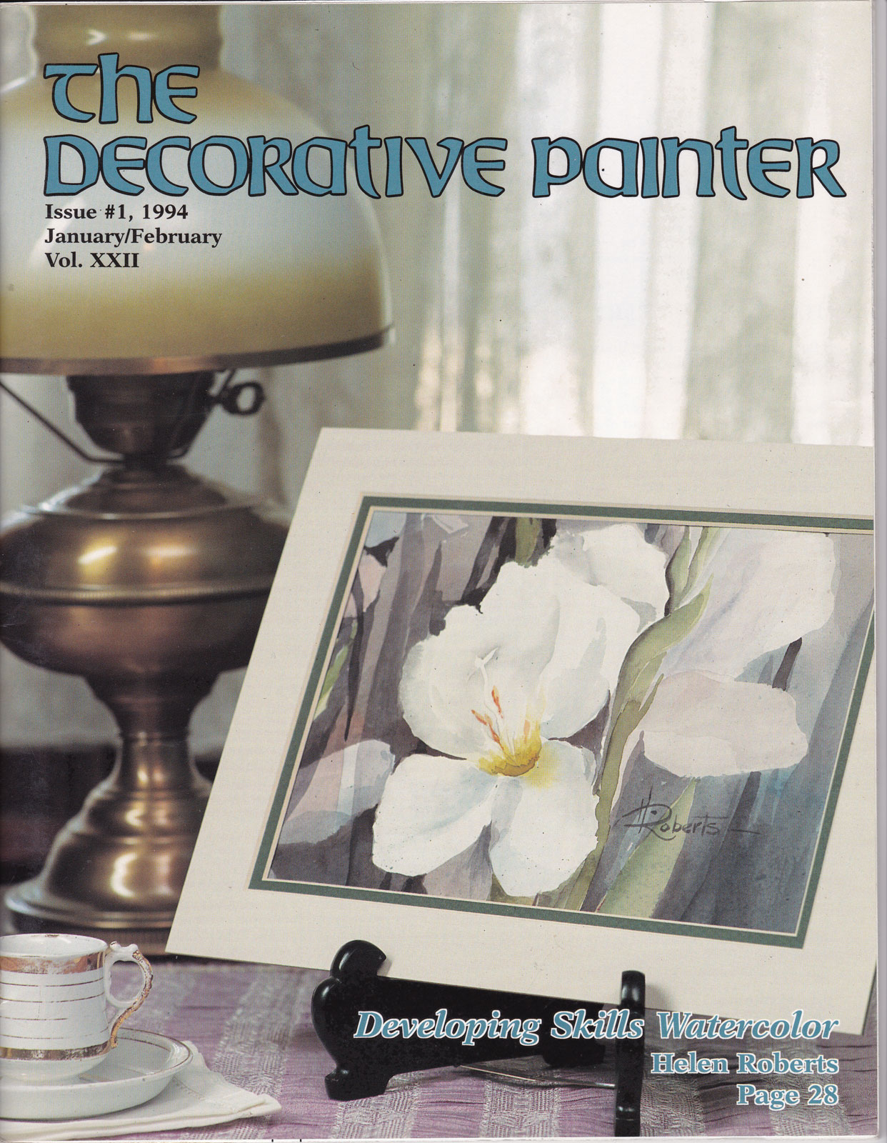 Magazine The decorative Painter - 1994 N°1