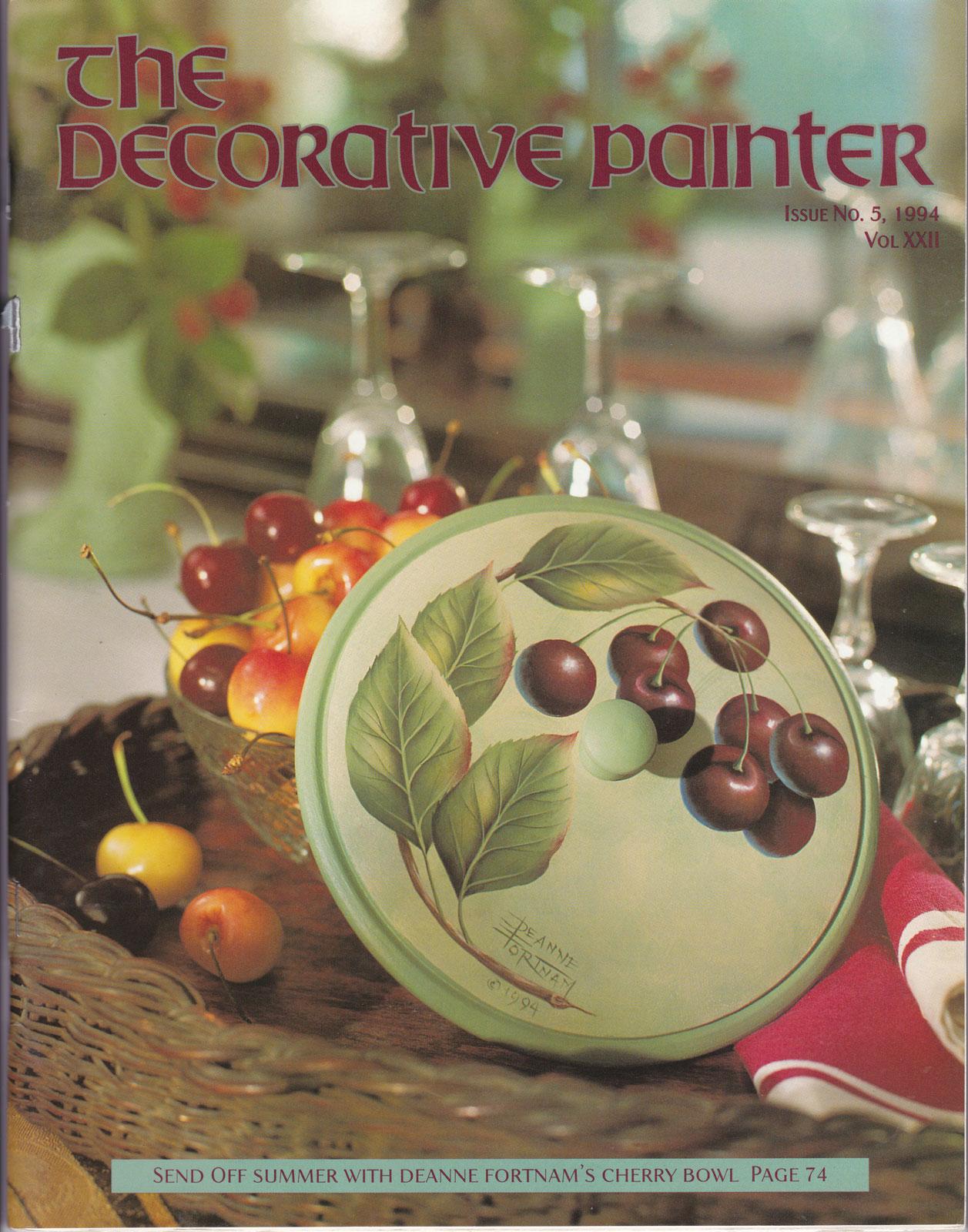 Magazine The decorative Painter - 1994 N°5