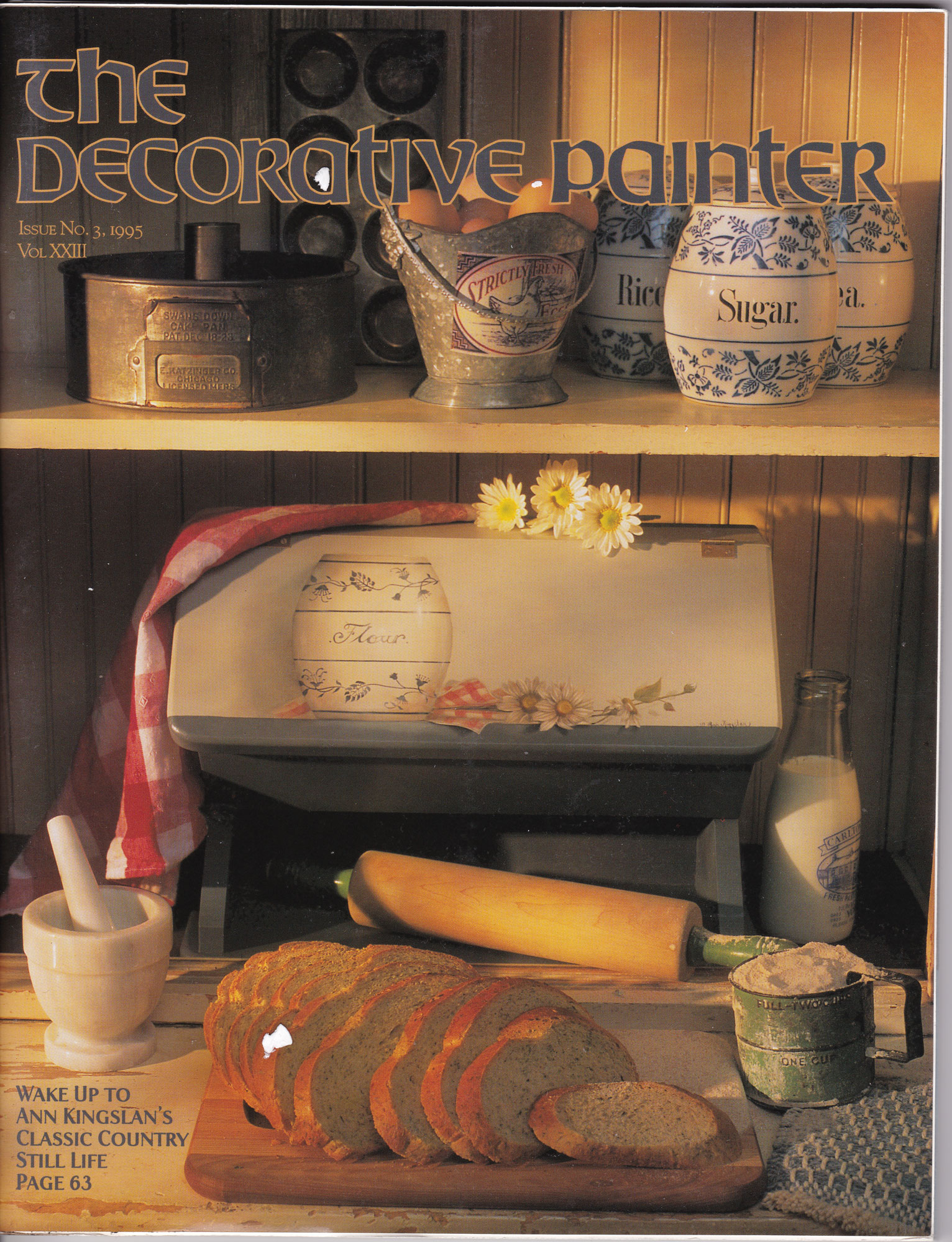 Magazine The decorative Painter - 1995 N°3